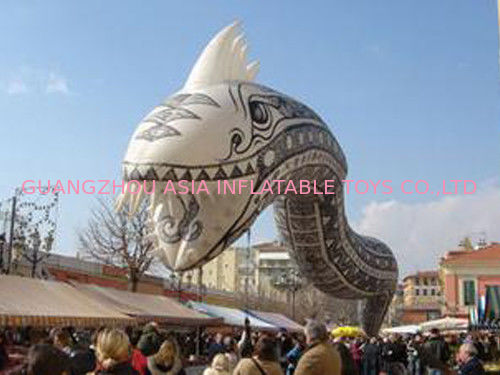 Custom snake helium balloon for decoration